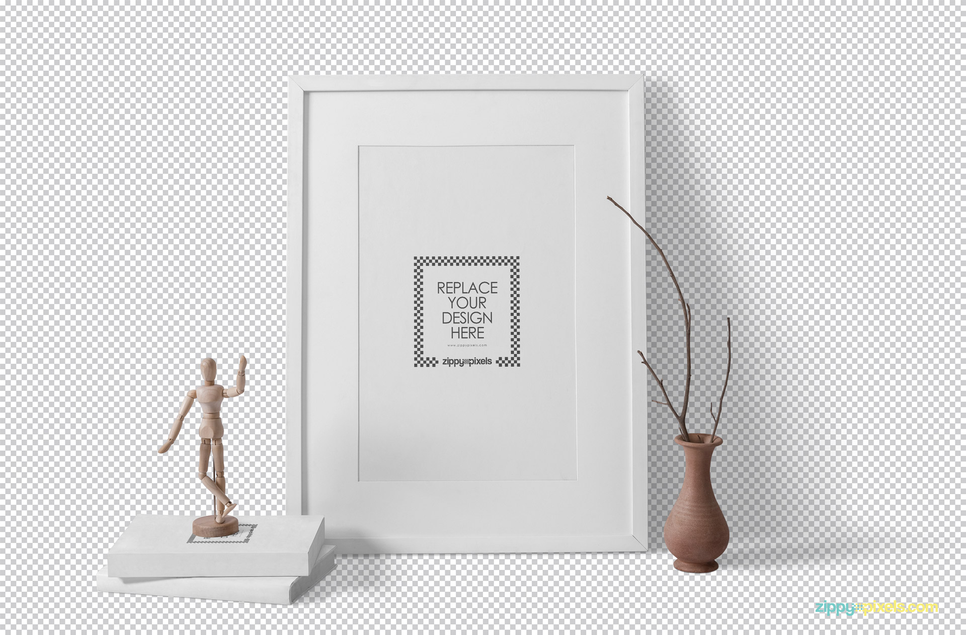 Everything in this frame mockup is customizable.