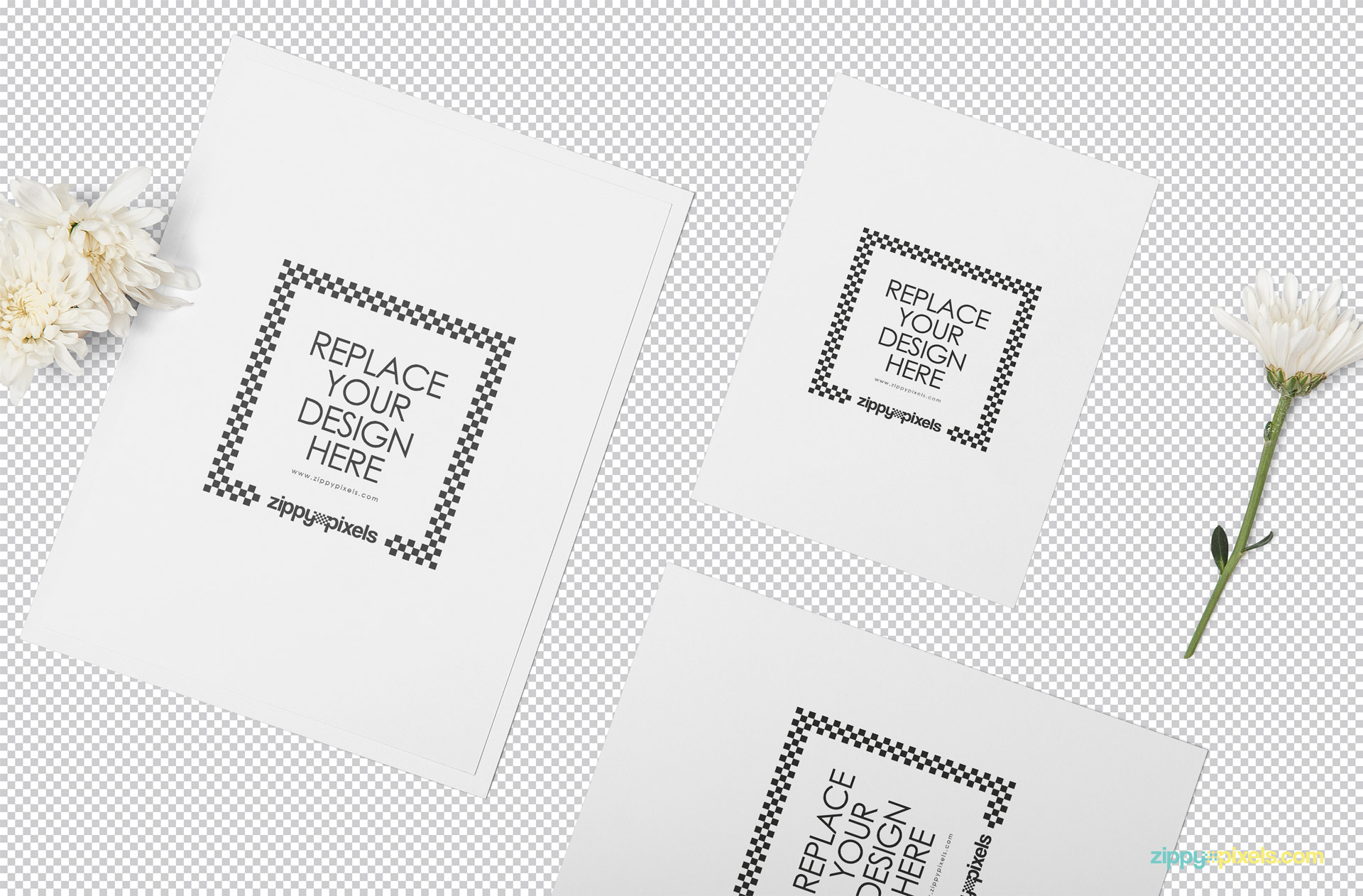 Wedding Invitation Mockup Psd Free Zippypixels