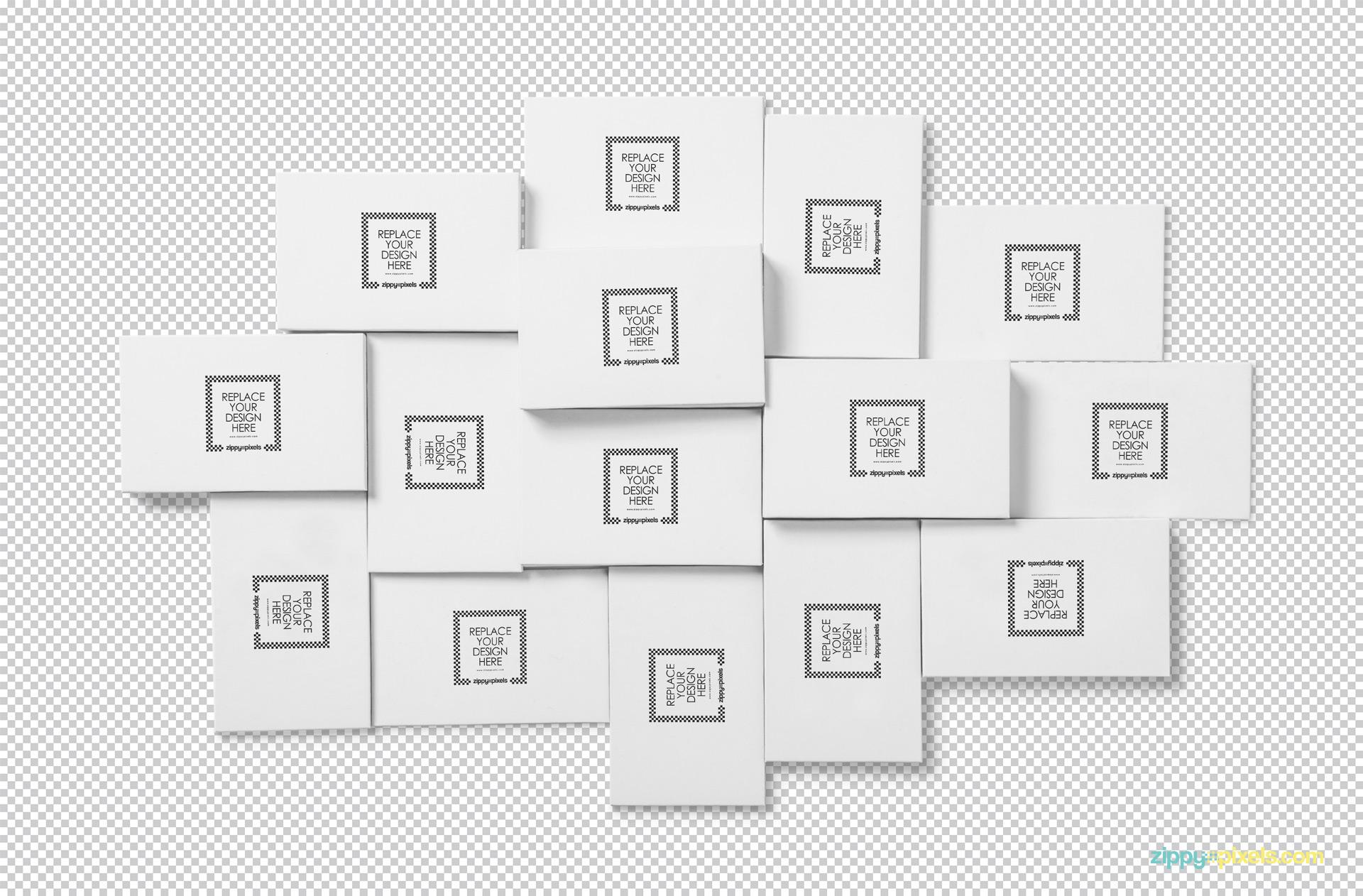 Edit this PSD of visiting card mockup as per your choice.
