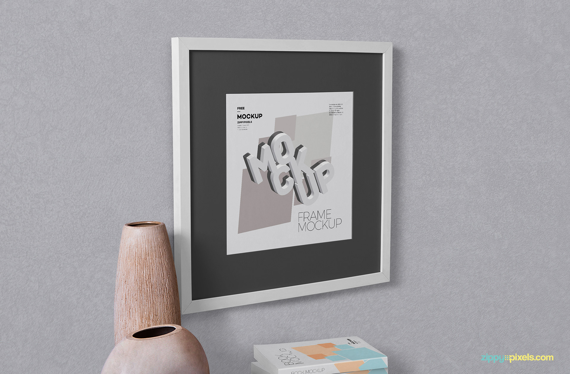 Free frame mock up.