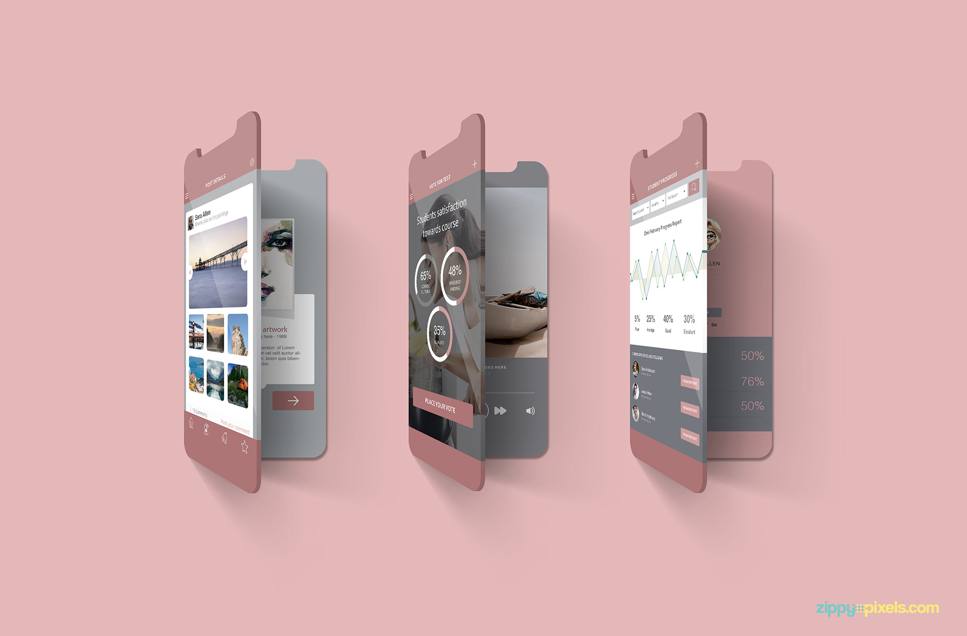 2 free multi-screen mockups.