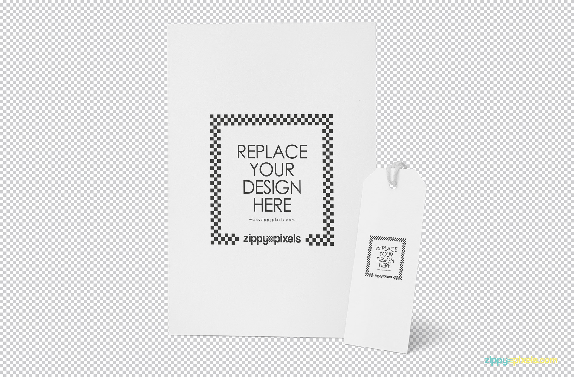 Display your design on this free letter mockup.