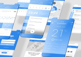 2 Free Latest iOS App Mockups