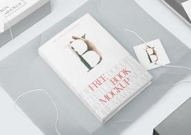 Free Fabulous Hardcover Book Mockup