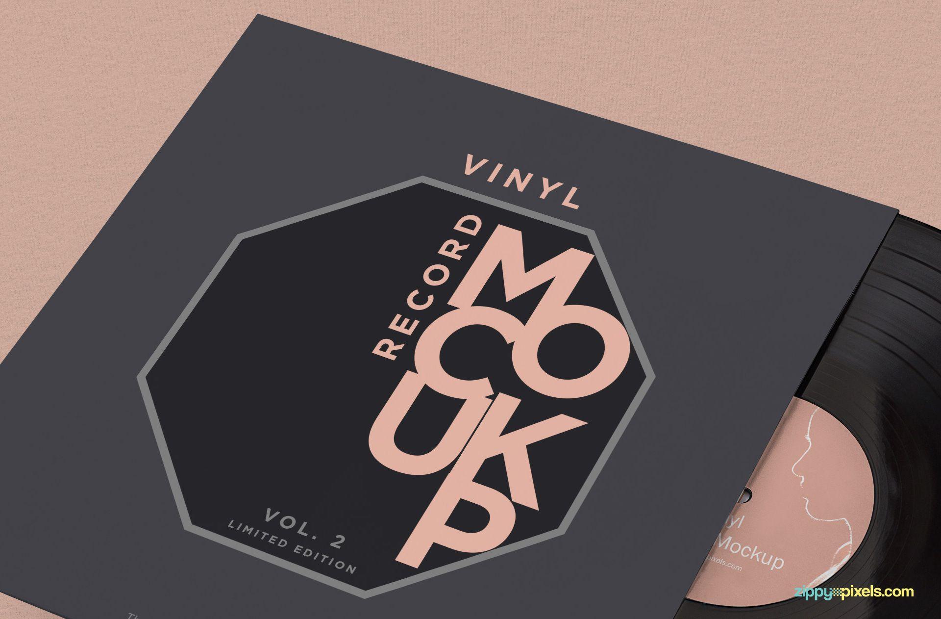 Vinyl Record Cover Dimensions Template Vinyl Record Jacket