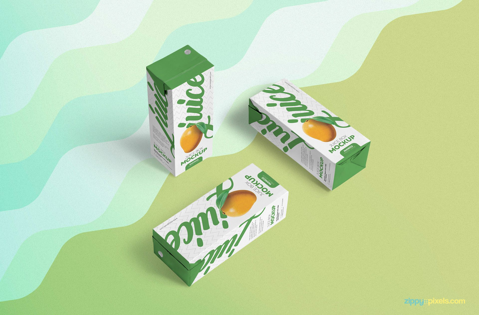 Free PSD real juice mockup.