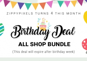 ZippyPixels Birthday Deal