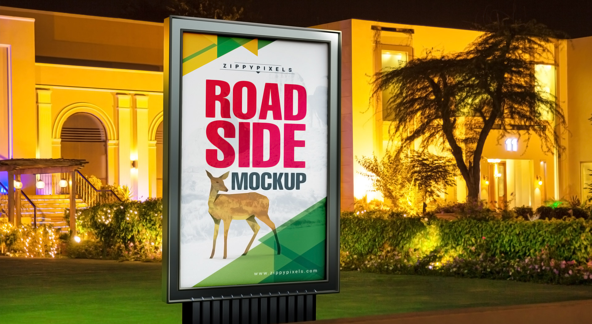 Road Side Advertisement Mockups