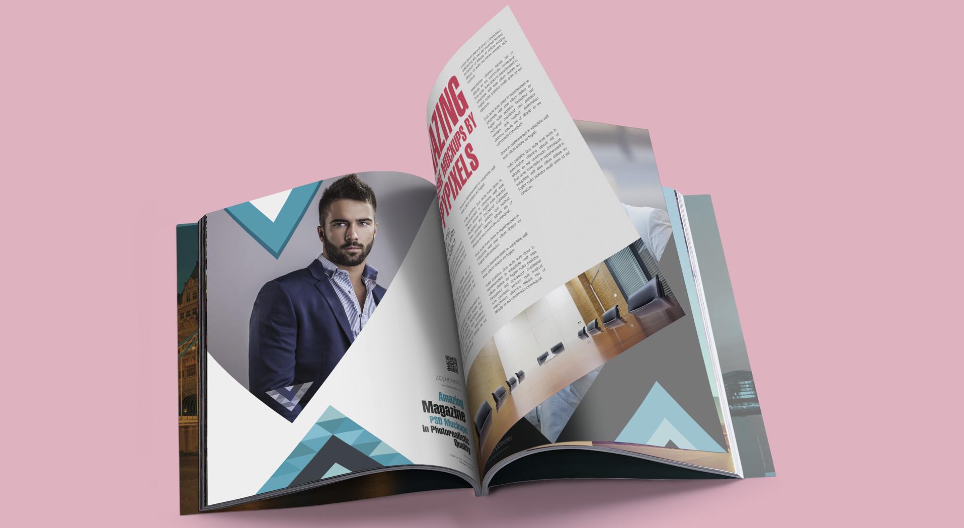 Magazine Mockups vol 3