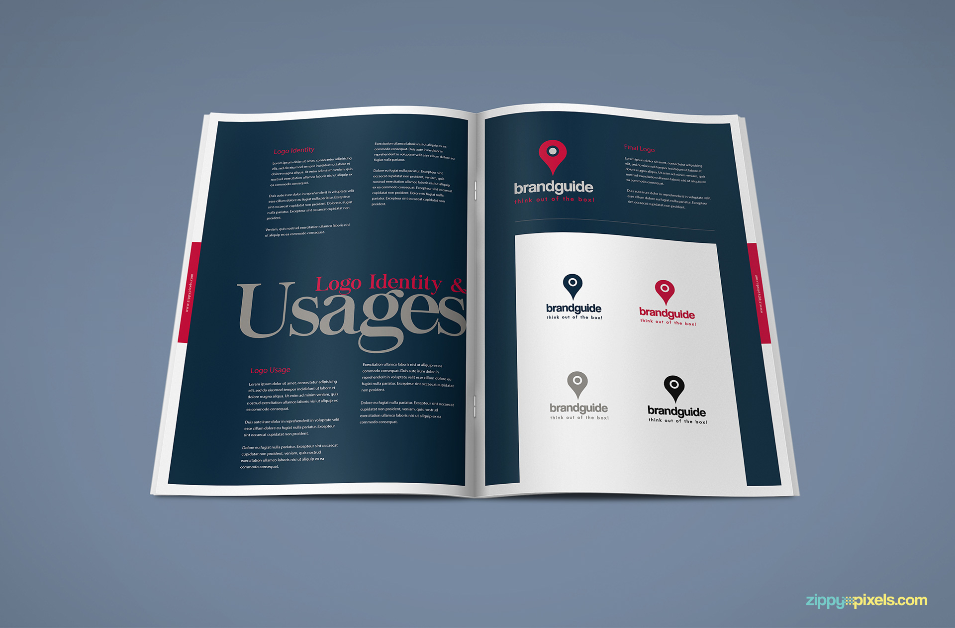 Logo usages examples